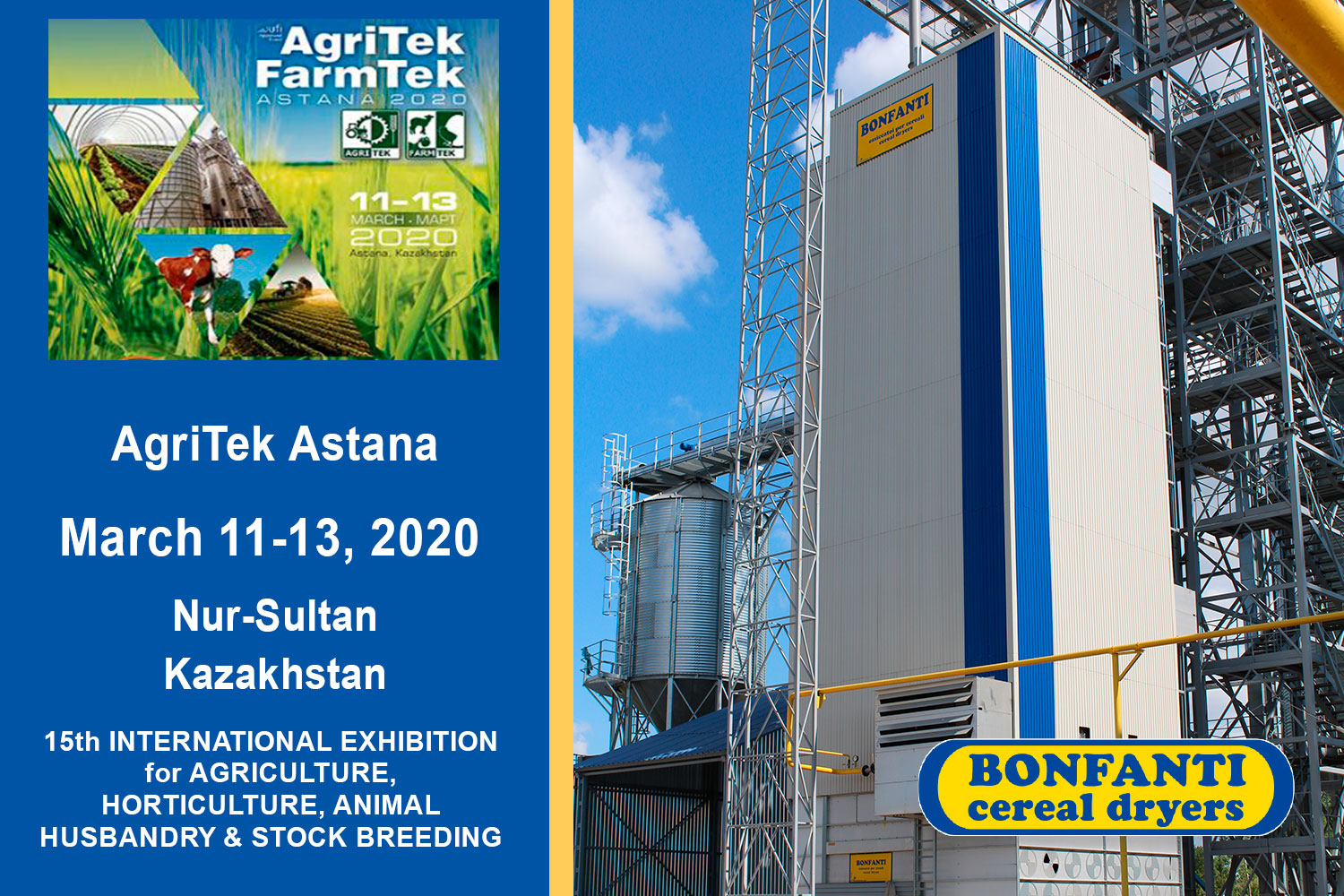 AgriTek Astana 11-13 March 2020