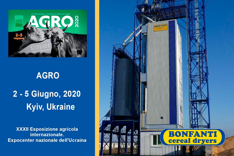 AGRO – 2-5 June 2020