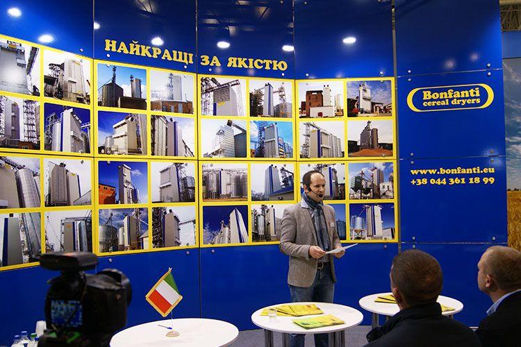 L'evoluzione degli essiccatoi, conferenza Grain Tech – Ucraina